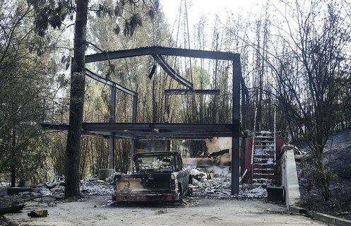 报告称加州山火造成145亿美元房屋损失