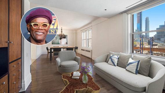 影星塞缪尔·杰克逊开价1300万美元出售曼哈顿公寓