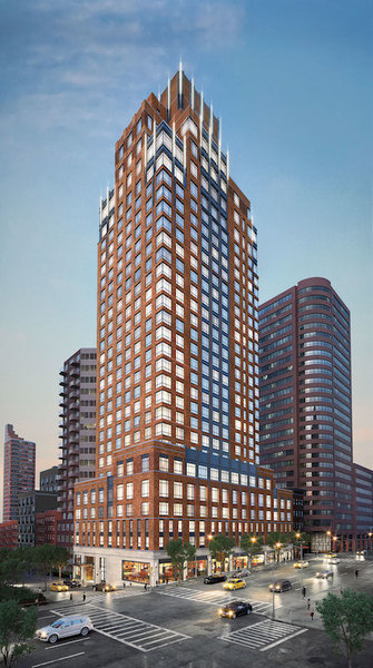 An exterior rendering of The Kent