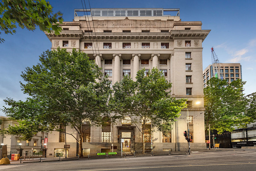 This Market Street property in a former historic warehouse in the heart of Melbourne, is priced at A$