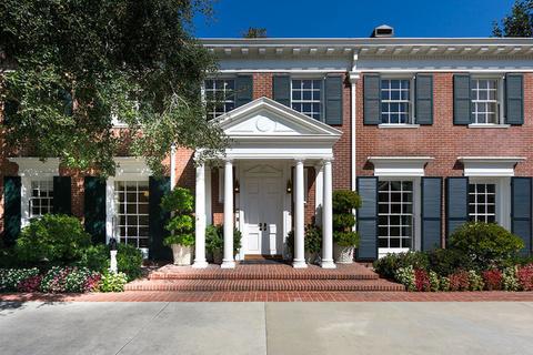 每日豪宅 | 焕然一新的加州百年殖民式红砖大宅