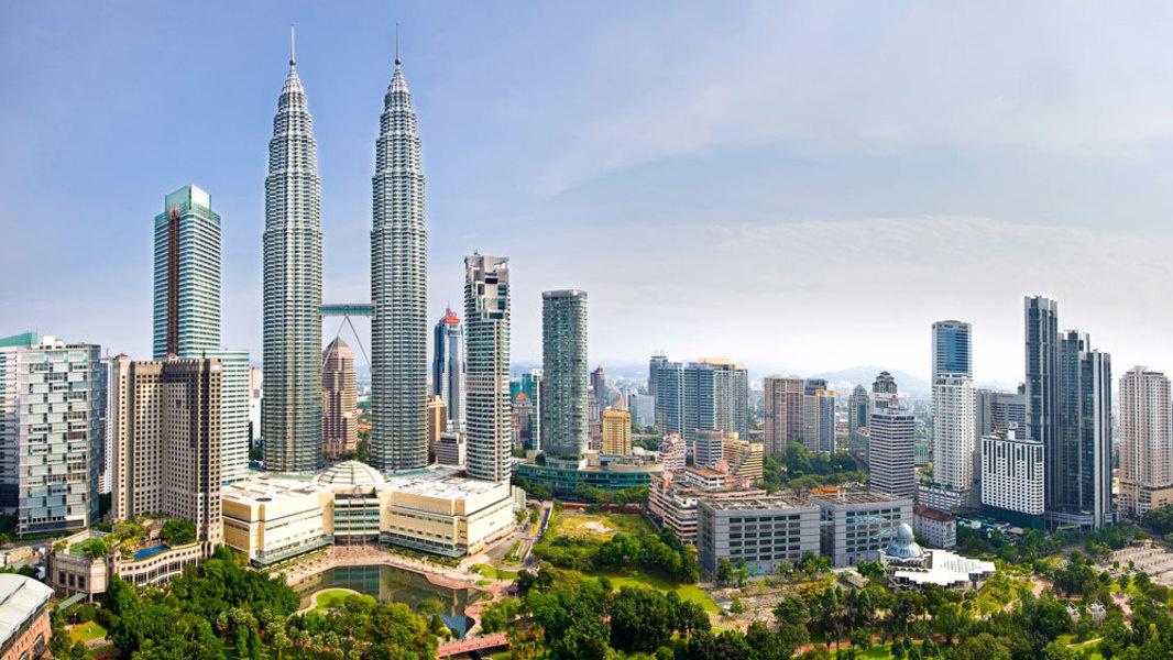 图为吉隆坡城中城。