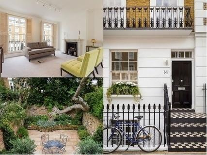 每日豪宅 | 背靠古树的伦敦五层宽敞联排别墅