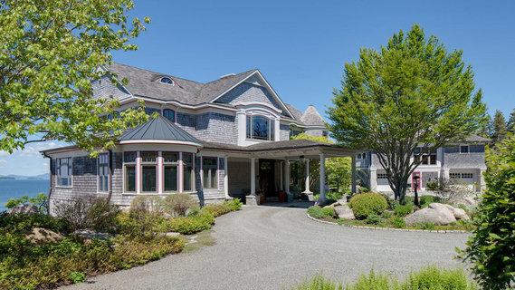 每日豪宅 | 风景如画的缅因州海滨私人度假庄园