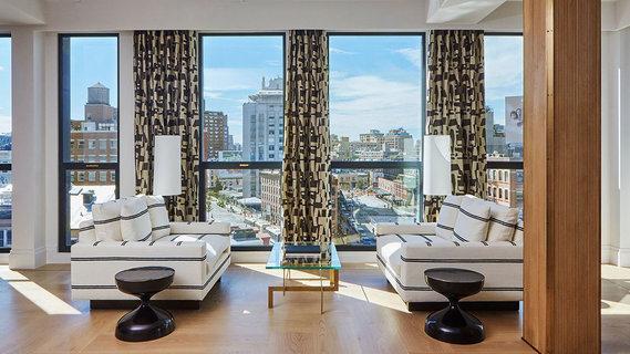 每日豪宅 | 空间宽绰的曼哈顿高档社区全层公寓