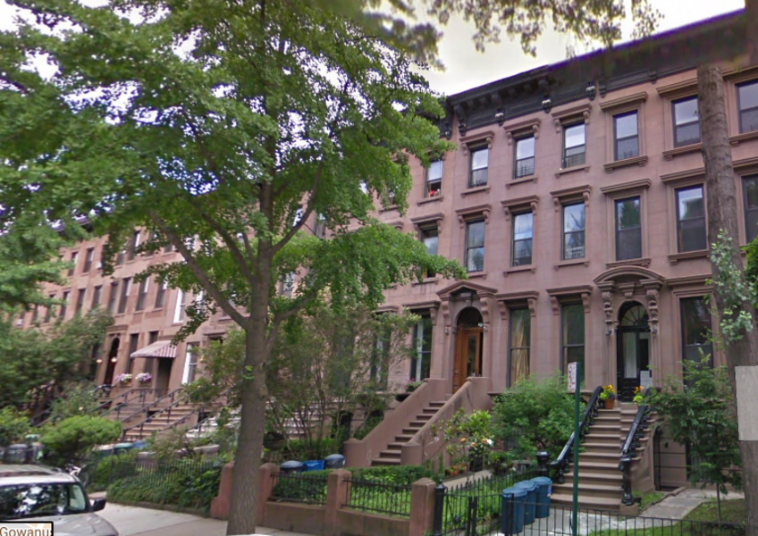 Mr. Manafort's home townhouse in Brooklyn