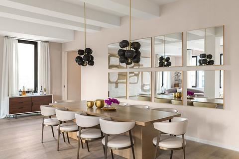 每日豪宅 | 曼哈顿翠贝卡核心地段的宽阔五卧公寓