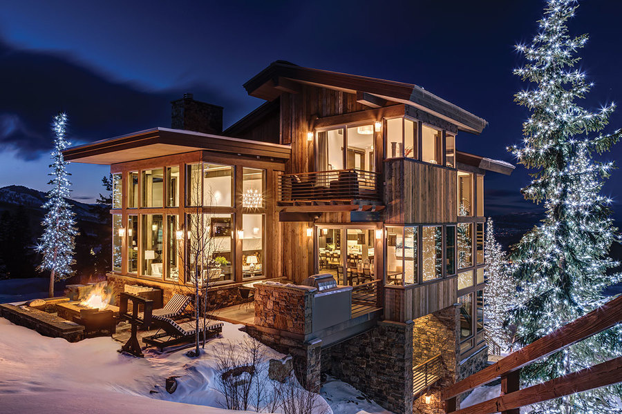 """Park City, Utah: """"Rustic"""" is out, """"Mountain Modern"""" is in. The few still-available Stein Eriksen Resi"""