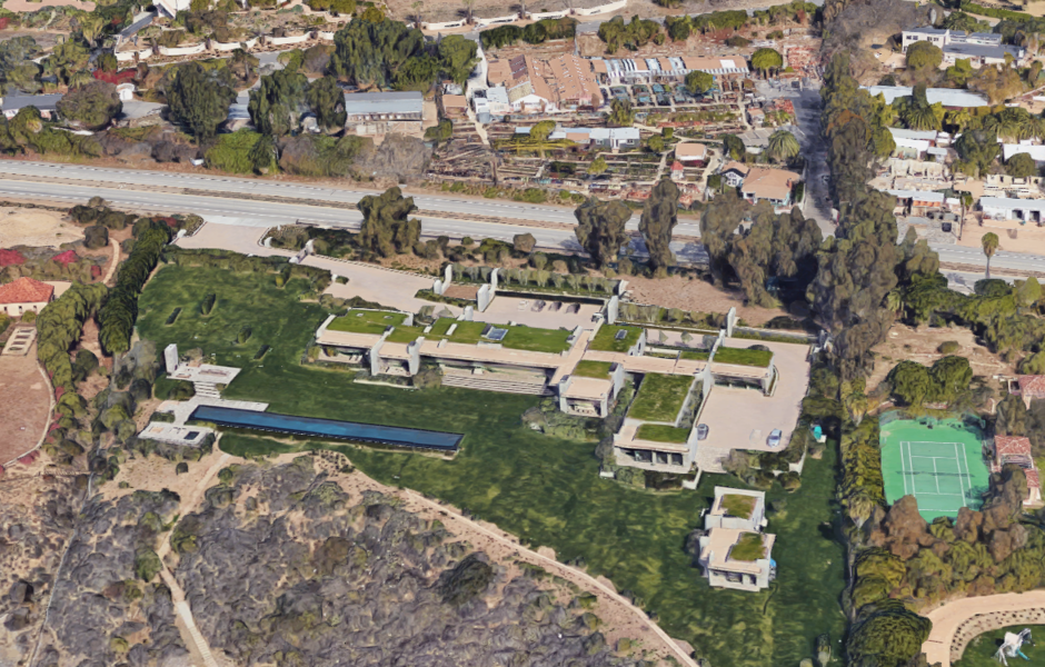 The pictured Malibu home belonging to Kurt Rappaport, co-founder and CEO of Beverly Hills-based Wests