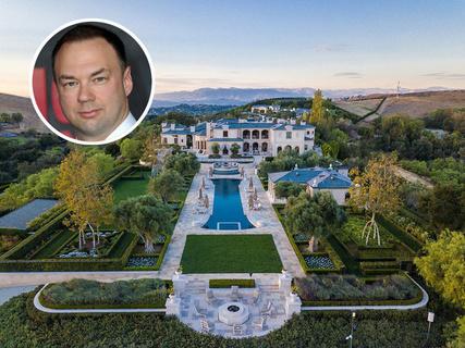 传奇影业创始人开价8500万美元出售加州奢华庄园