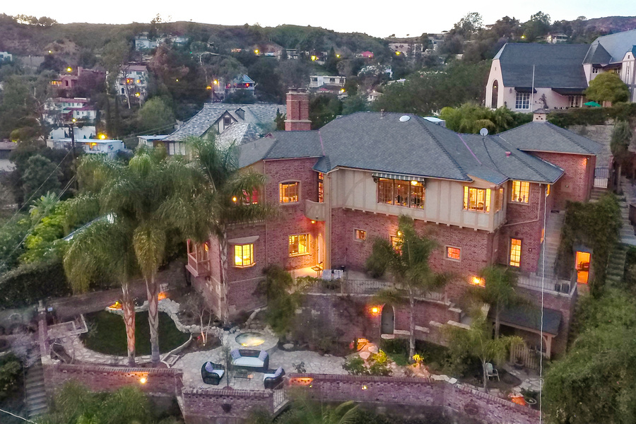"""Nicknamed """"Westshire Manor,"""" this home  was built for actor Bela Lugosi."""