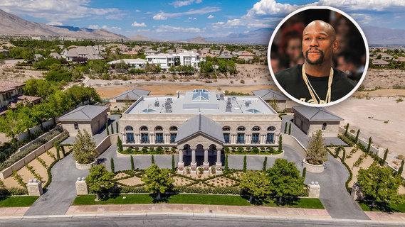 拳王弗洛伊德·梅威瑟斥资千万美元购赌城豪宅