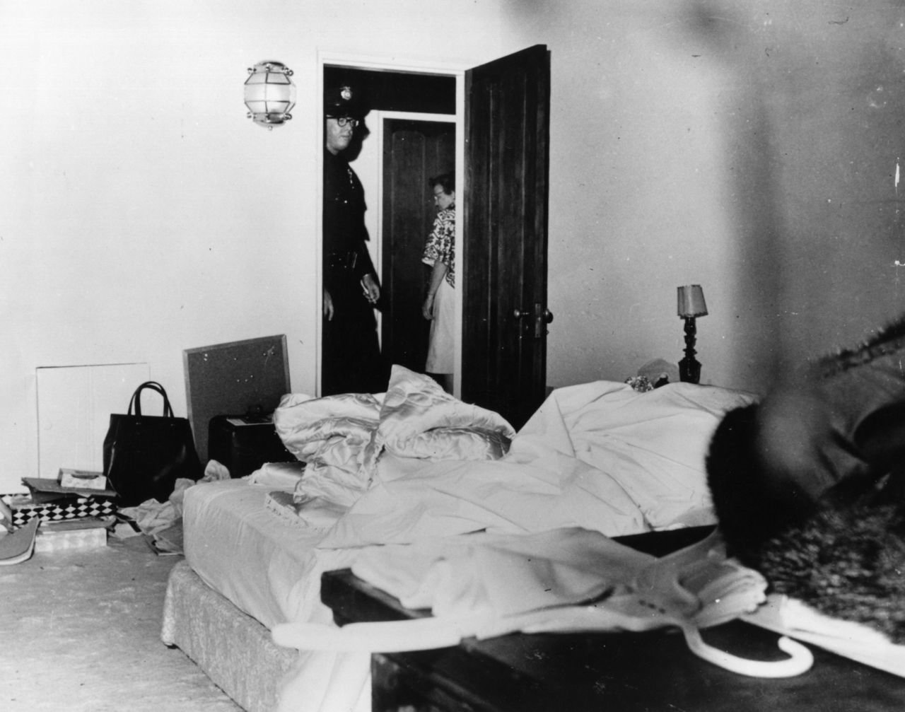 The room where Monroe died