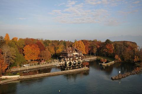 每日豪宅 | 埃菲尔铁塔建筑师打造的日内瓦湖畔城堡