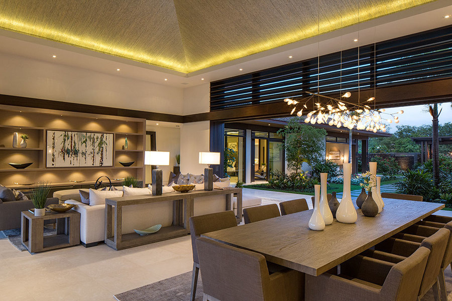 Interior of a turnkey property at Four Seasons Hualalai Resort, Hawaii