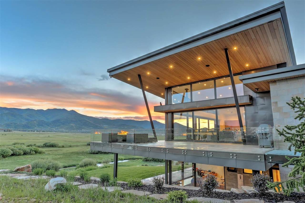 LEED Gold certified mansion in Park City