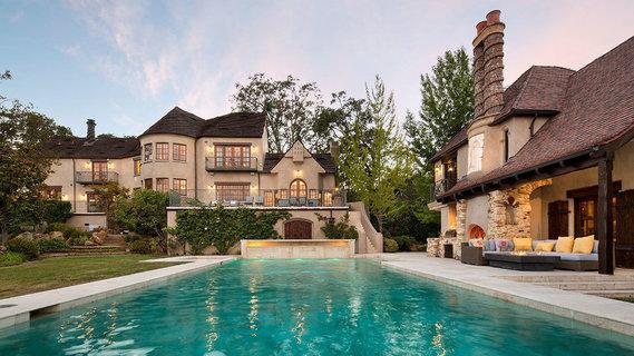 每日豪宅 |  融合英法古典风情的加州翻新庄园