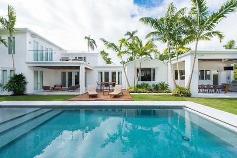 每日豪宅 | 装饰艺术风格的迈阿密海滩经典大宅