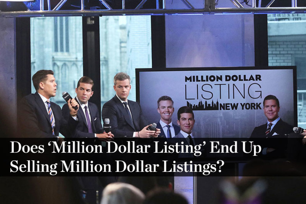 Does 'Million Dollar Listing' End Up Selling Million Dollar Listings?
