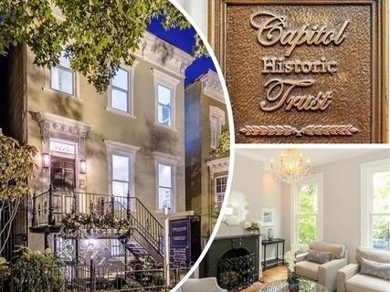 每日豪宅 | 经典联邦风格的华盛顿特区半独立别墅