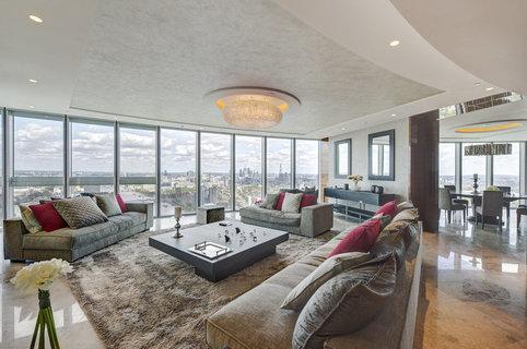 伦敦泰晤士河南岸顶层公寓 叫价1195万英镑