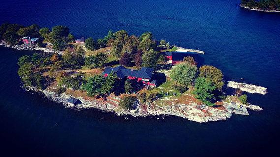 每日豪宅   追溯至禁酒时期的纽约州私人度假小岛
