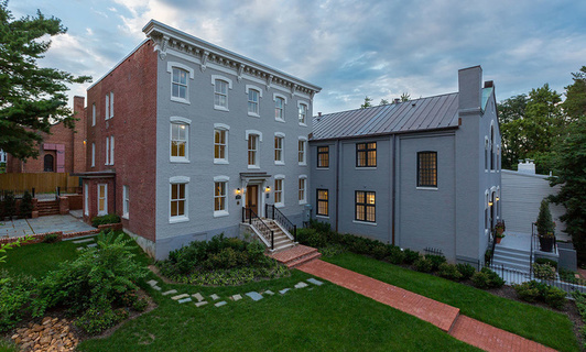A Landmark Astronomer's Mansion in Historic Georgetown