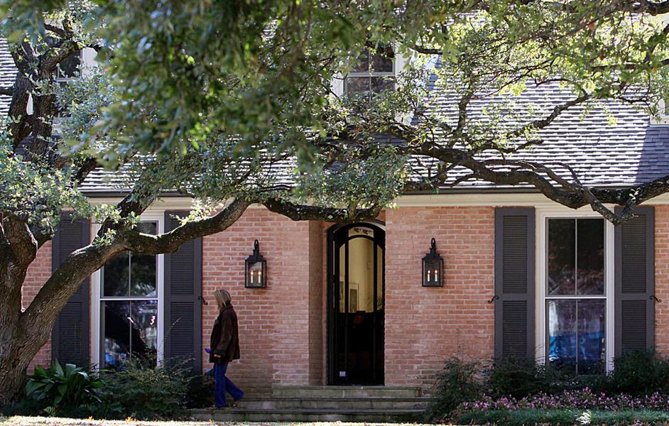 图为小布什位于得克萨斯州达拉斯的家。