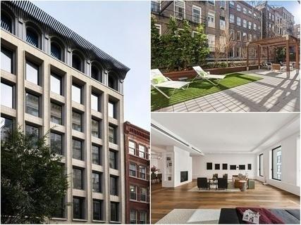 每日豪宅 | 附带超大露台的曼哈顿全层阁楼公寓