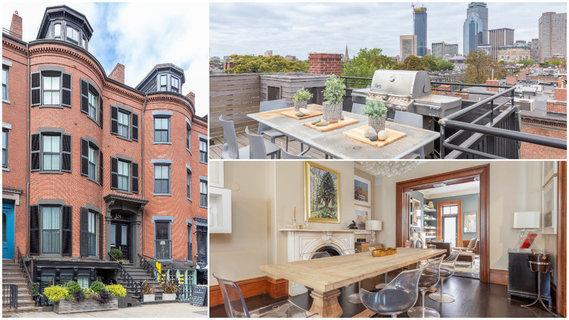 每日豪宅 | 比邻私人公园的波士顿维多利亚式联排别墅