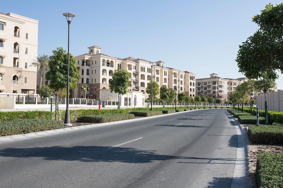 A residential area on Saadiyat Island