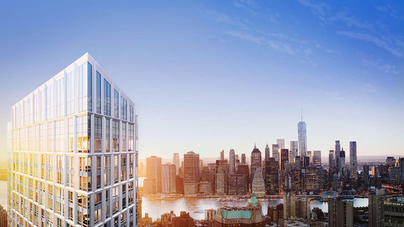 布鲁克林第一高楼顶层公寓标价400万美元上市