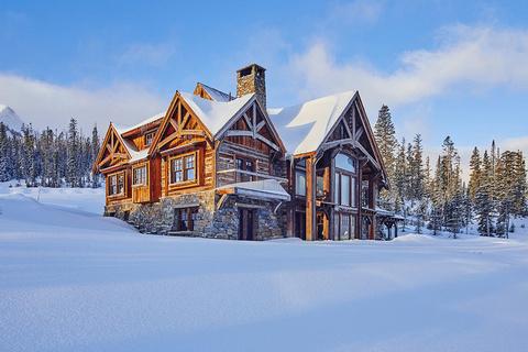 每日豪宅 | 比邻顶级雪场的蒙大拿州豪华木屋