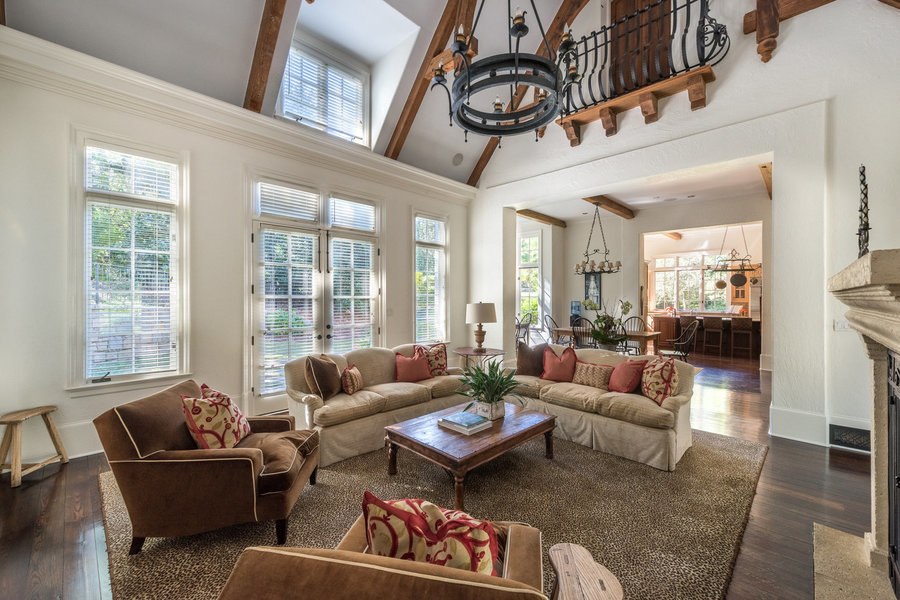 An interior view of a six-bedroom, 9,040-square-foot mansion, asking for $6.5 million.