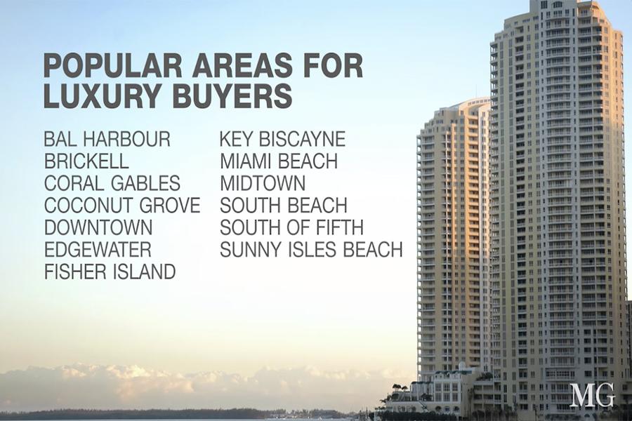 Despite economic slowdowns in Latin America, Miami remains a top luxury destination for international