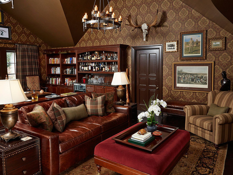 Old-world sophistication defines this design by Corey Damen Jenkins of Corey Damen Jenkins & Asso