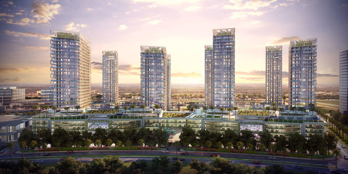 Rendering: Metropica is attracting interest, particularly among the Chinese, through a visa program.