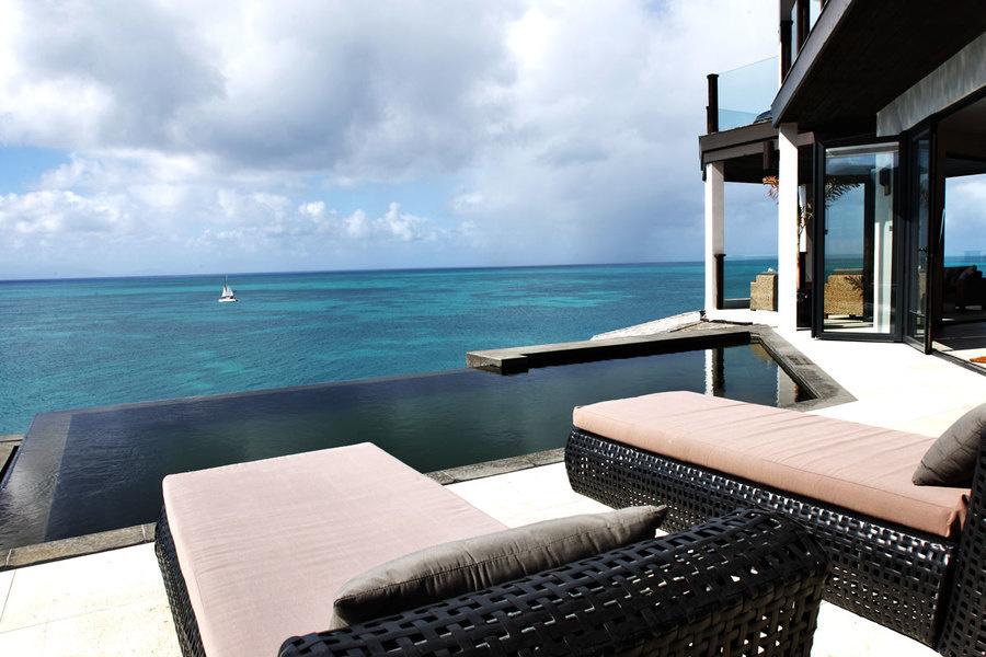 Tamarind Hills, un desarrollo tipo resort cerca de la devastada isla de Bermuda, se salvó.